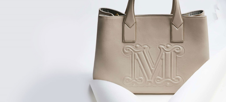 MaxMara bež torba sa detalijma