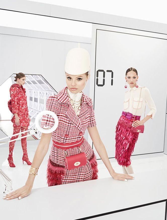 Elisabetta Franchi sa roze motivima
