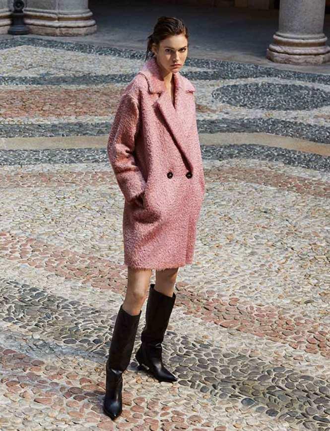 Marella roze kaput