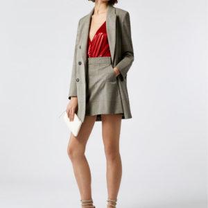 Max anc Co sivo odelo, sako i mini suknja
