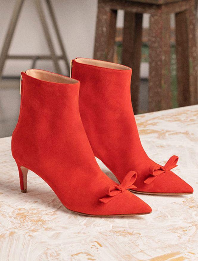 RED Valentino crvene čizmice na štiklu
