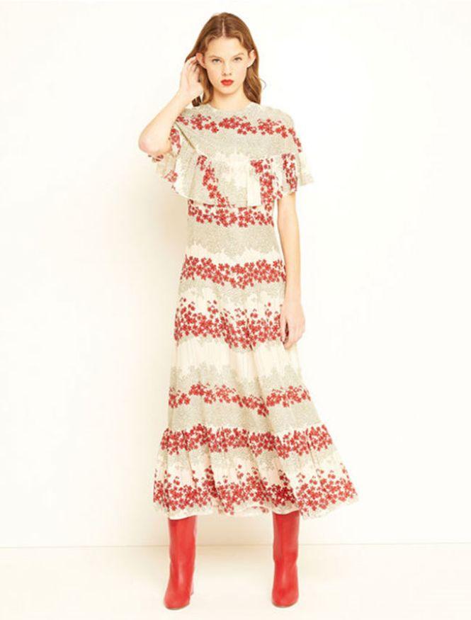 RED Valentino duga haljina