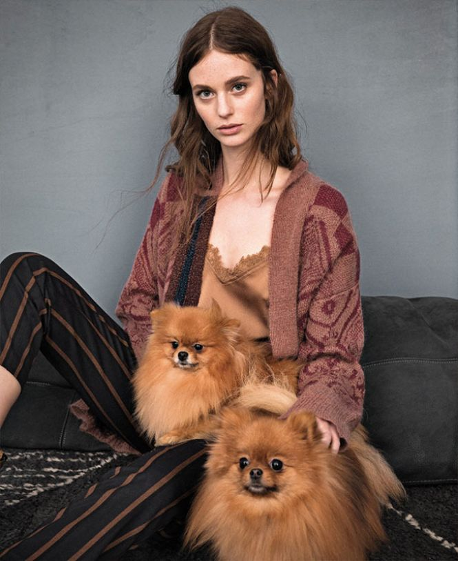 Twinset satenska bluza, džemper i pantalone