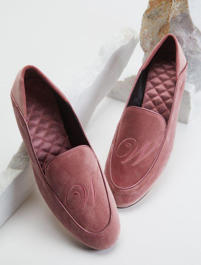 Weekend Max Mara pink cipele od pliša