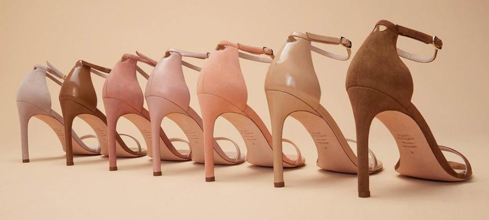 Stuart Weitzman sandale u pastelnim nijansama