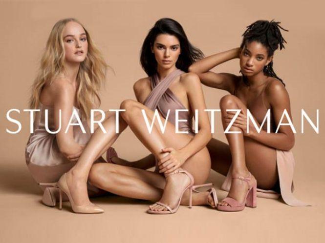 Stuart Weitzman manekenke zaštitna lica